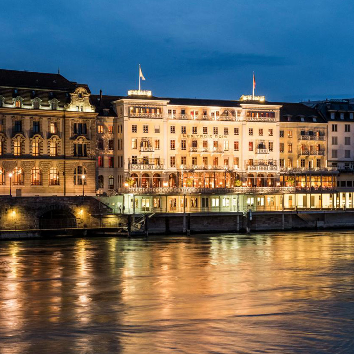 Grand Hotel Les Trois Rois Basel © Les Trois Rois