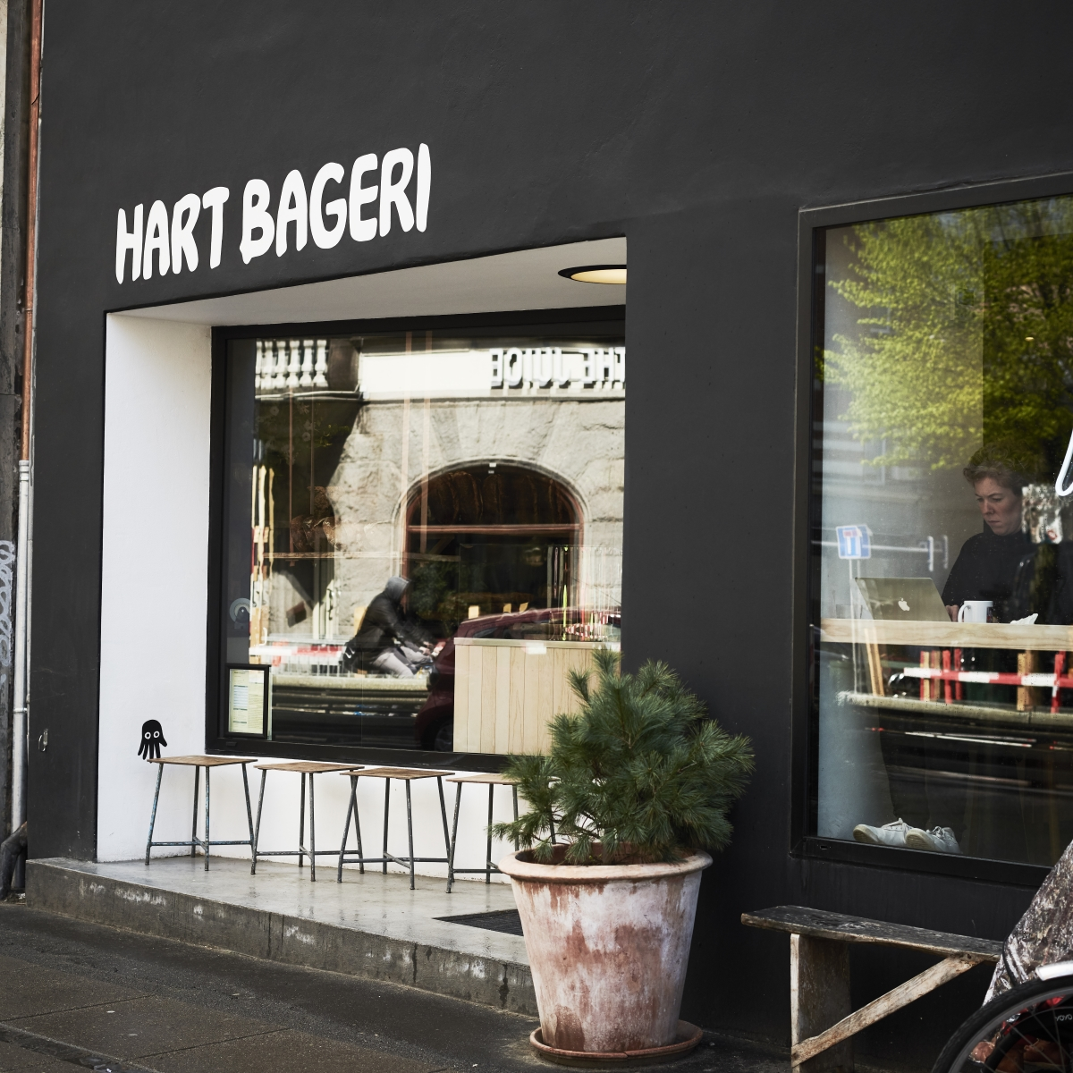Hart Bageri_Bäckerei Kopenhagen_Fassade