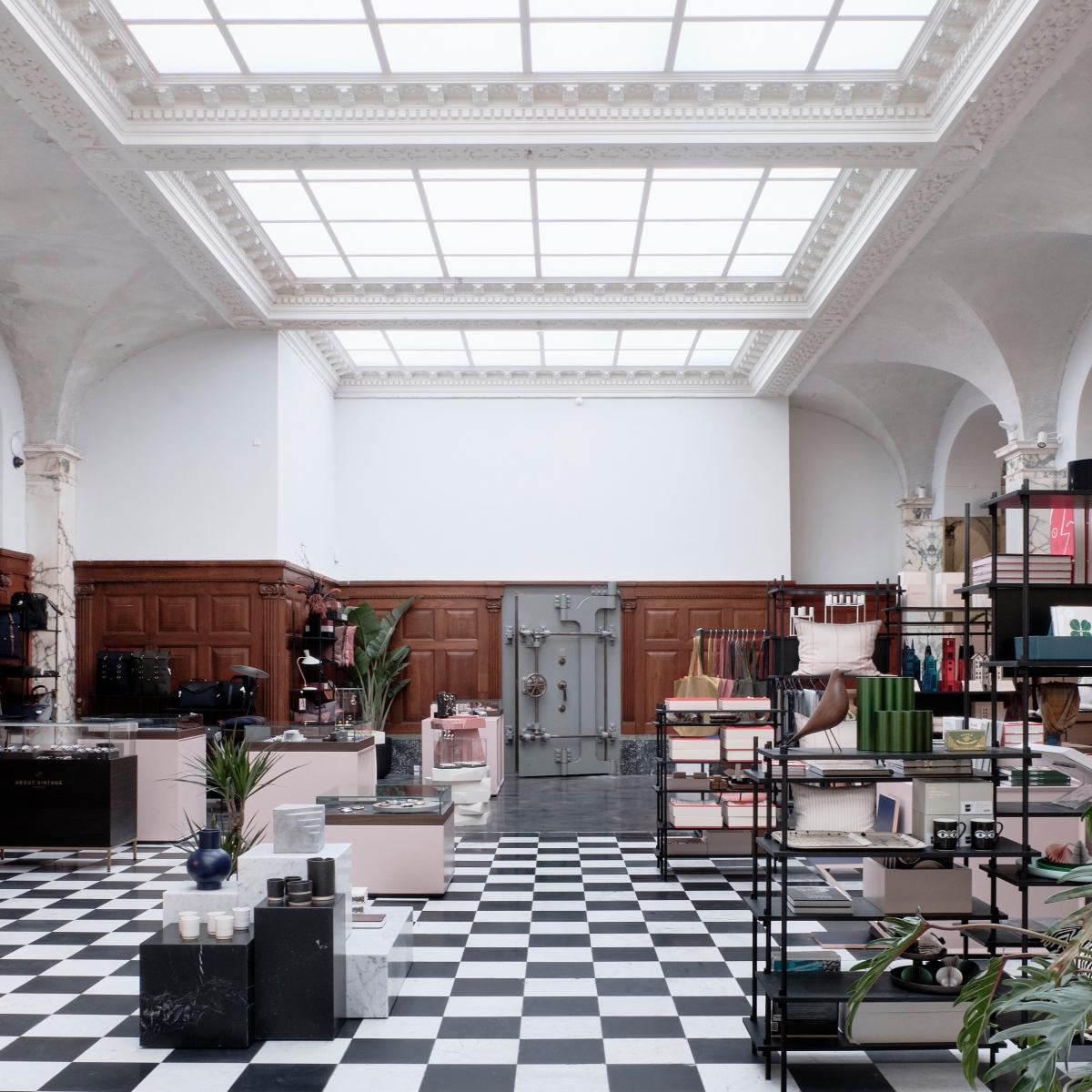Paustian Designermöbel Concept Store Kopenhagen Stroget