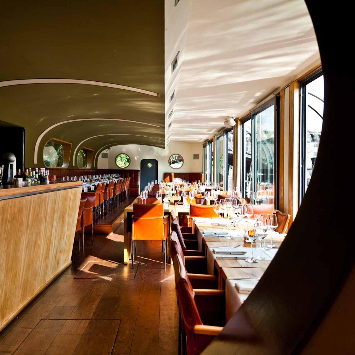 Restaurant Schiff Patio Berlin Moabit