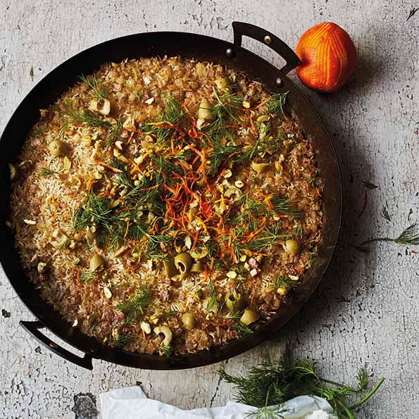 Rezept für Gebackenen Reis aus dem Ofen