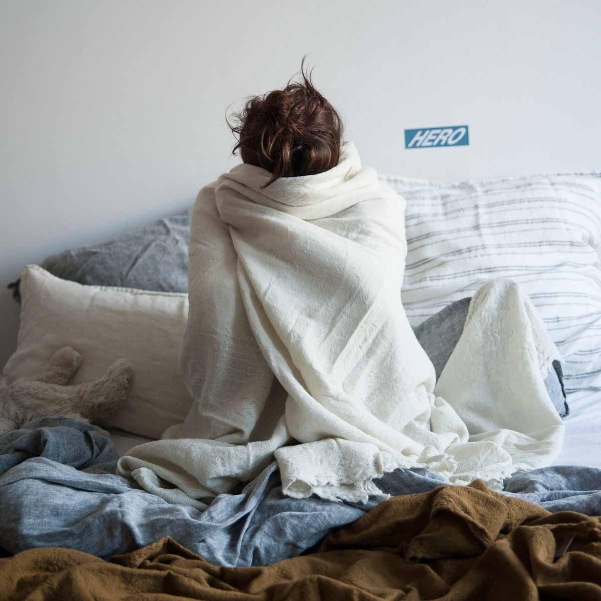 Tagesdecke Merino Wash von Sunday in Bed-2