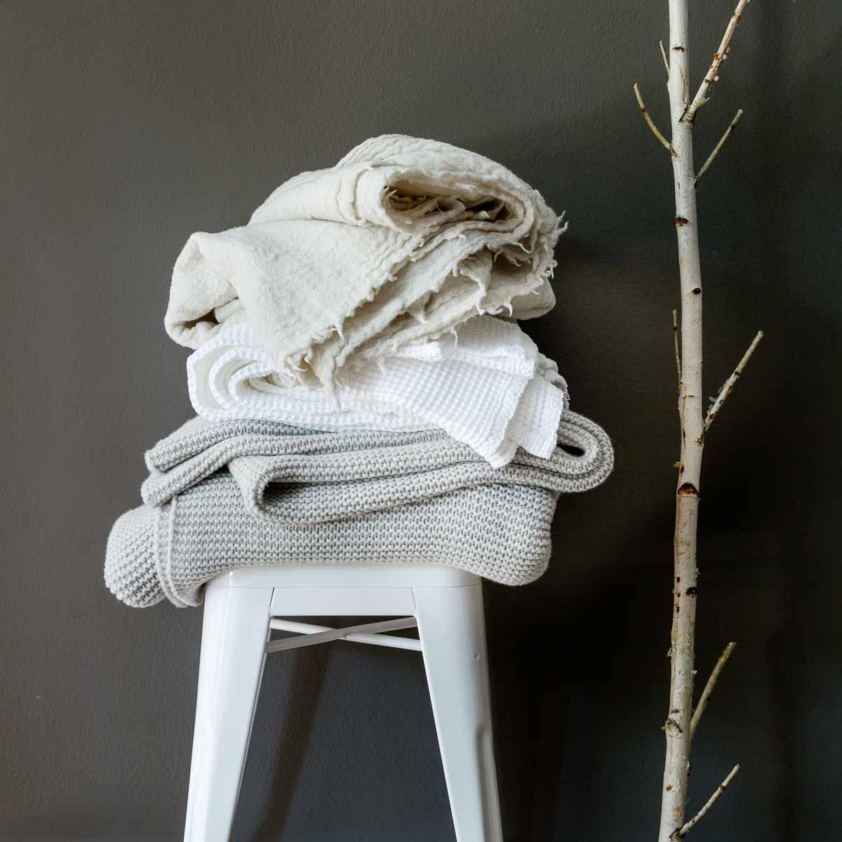 Tagesdecke Merino Wash von Sunday in Bed