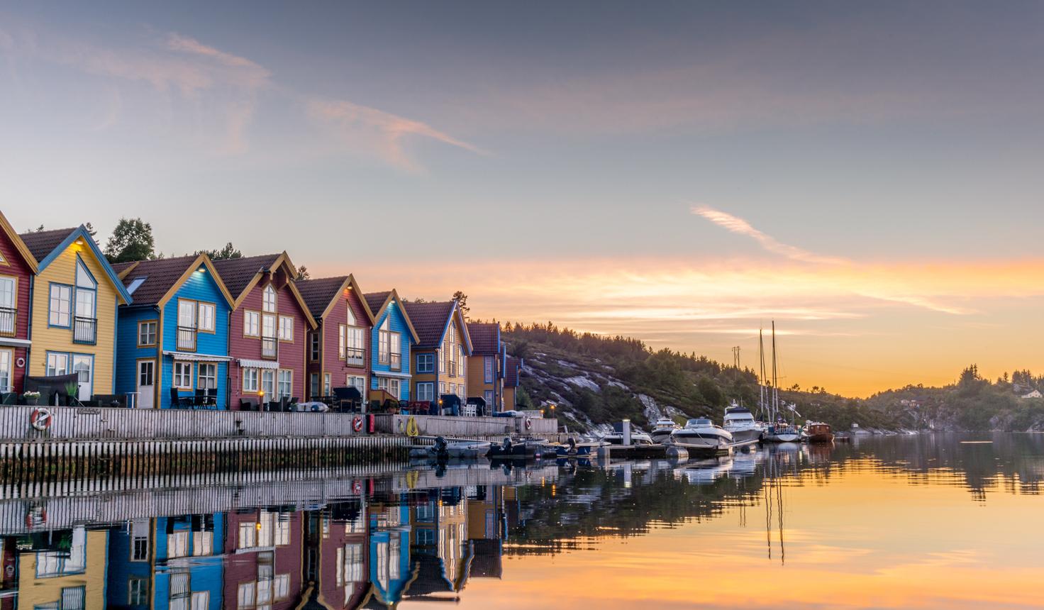 Bergen in Norwegen-2