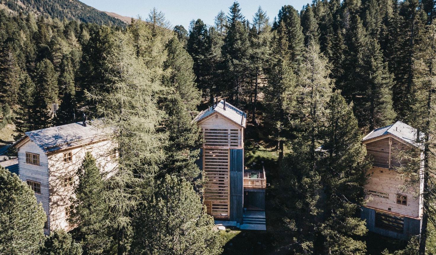 Exklusive Hütte im Zirbenwald in Österreich mieten