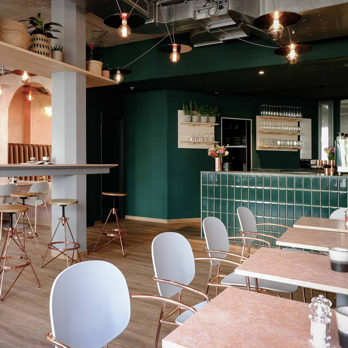 Marys Coffee Club in München © Stefan Hrubesch