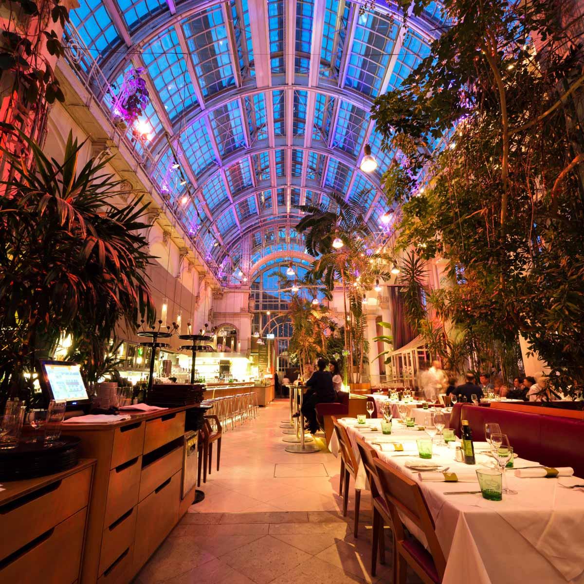 Palmenhaus Café Brasserie Bar in Wien--16