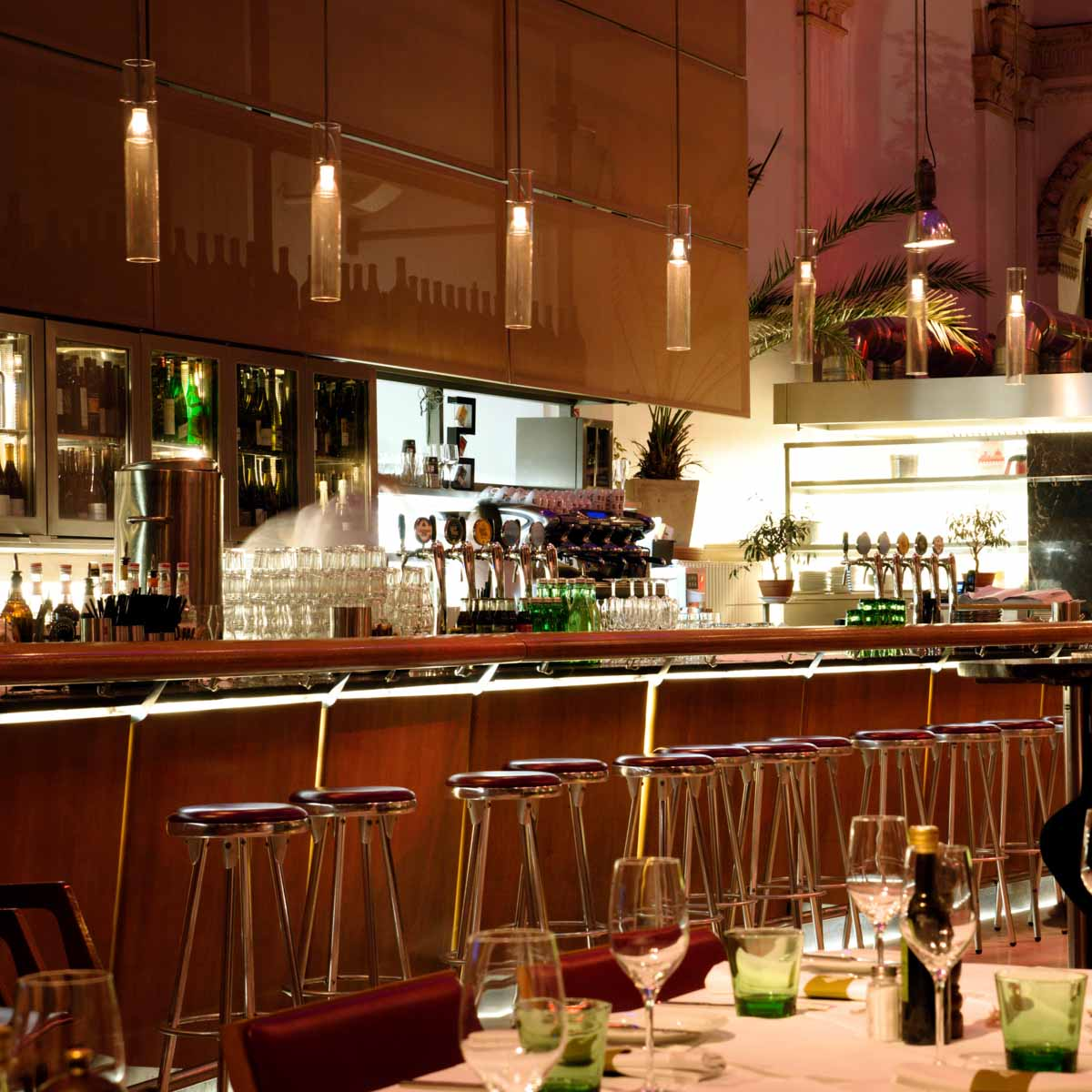 Palmenhaus Café Brasserie Bar in Wien--19