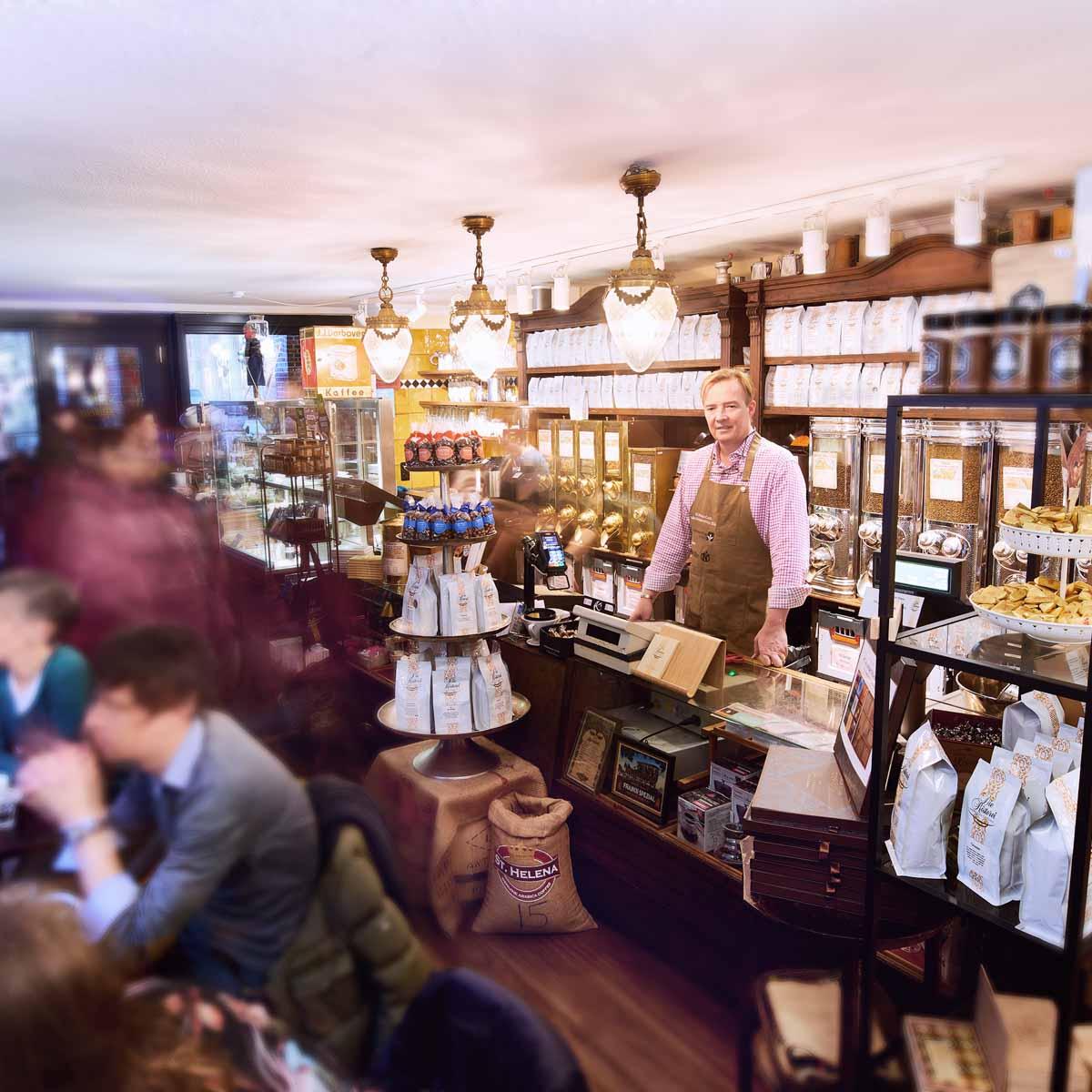 Die Rösterei Café Hamburg © Tobias Hoops