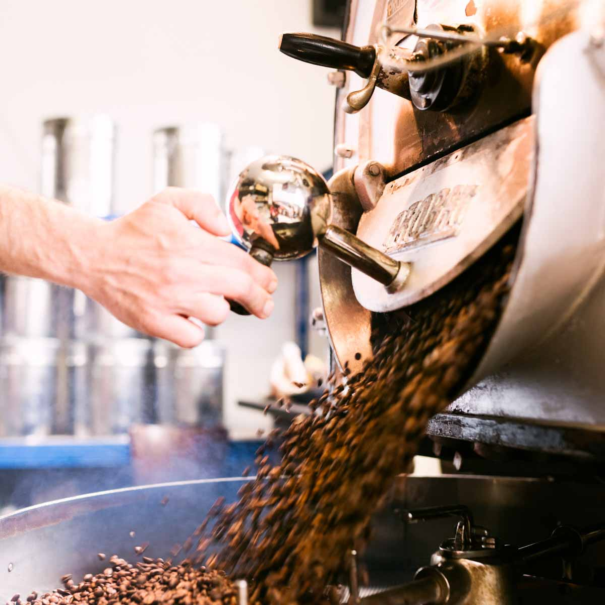 Die Rösterei Hamburg Kaffee © Tobias Hoops