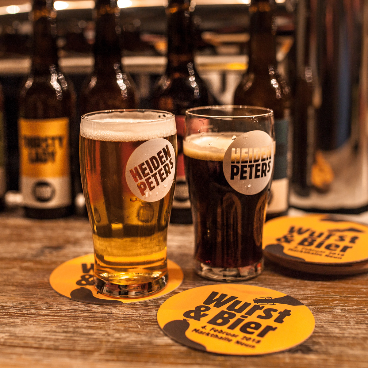 Heidenpeters Brauerei und Bar Markthalle Neun