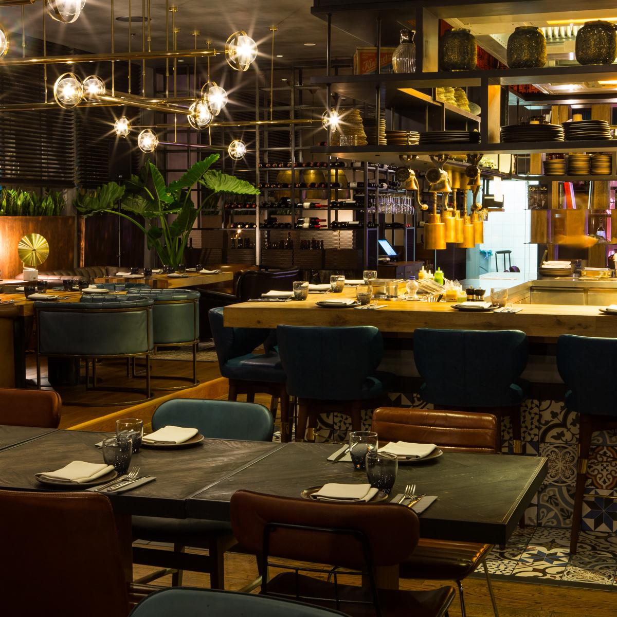 Restaurant Layla Interieur © Itiel Zion-3