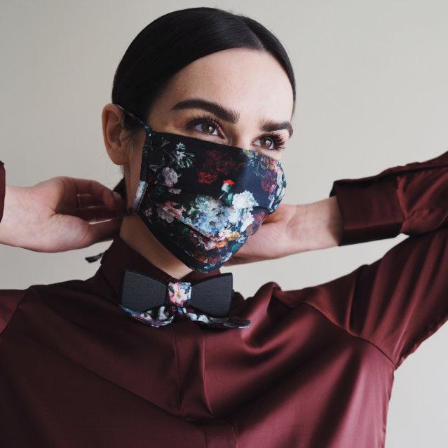 Akvile Trautmann Flower Maske BeWooden