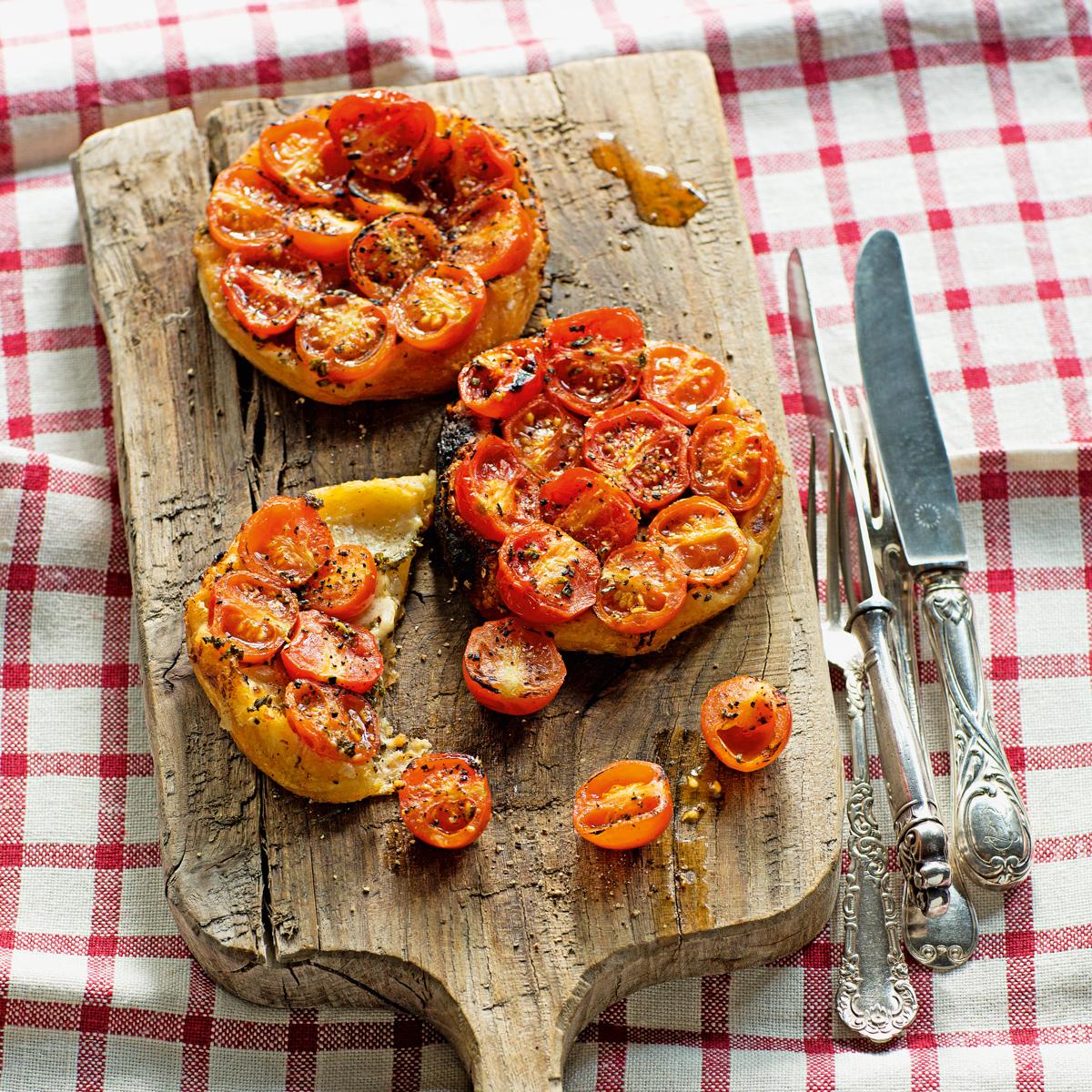 Rezept für Tarte Tomate von Tim Raue