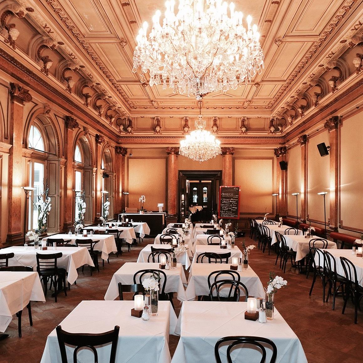 Grand Café im Literaturhaus in Hamburg