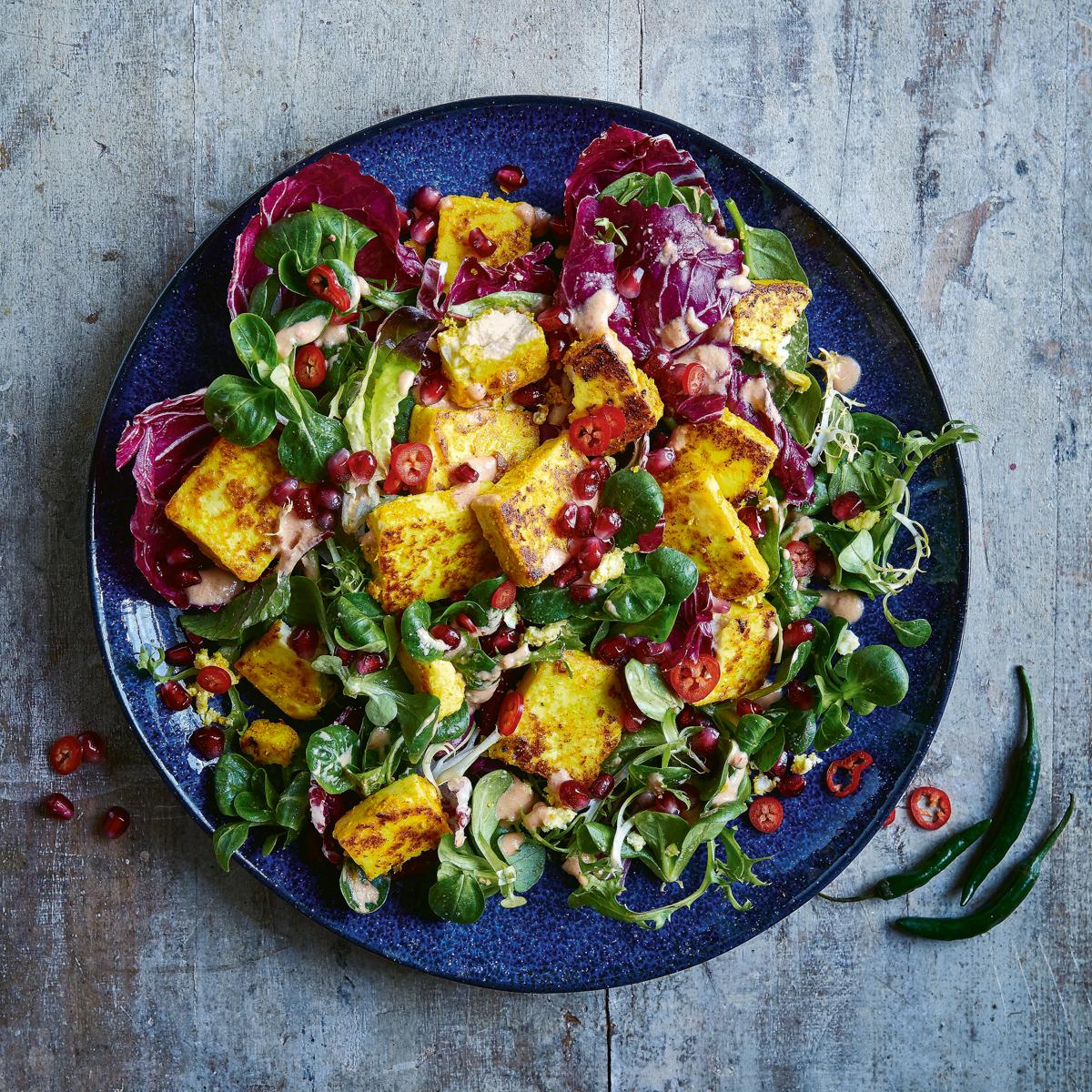 Salat mit Kreuzkümmel aus Gesundes Indien