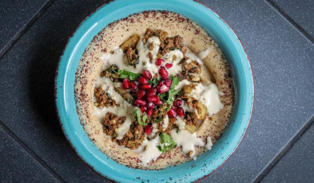 Hummus im Kanaan in Berlin