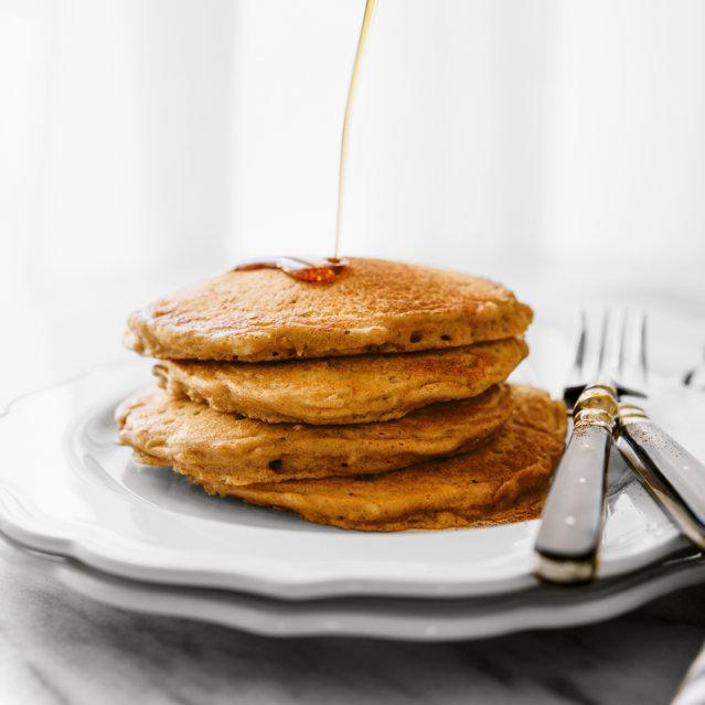 Rezept für Zimt Hafer Pancakes ©Kathryne Taylor