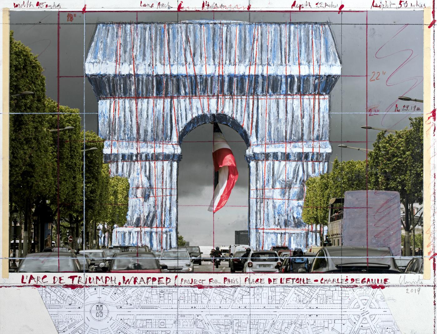 Christo im PalaisPopulaire Berlin © Christo