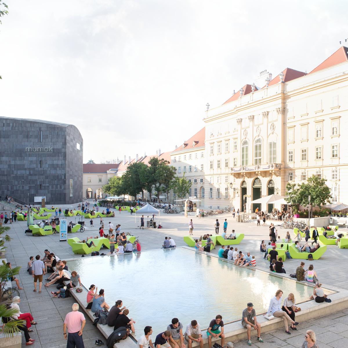 MuseumsQuartier Wien © Udo Titz 1