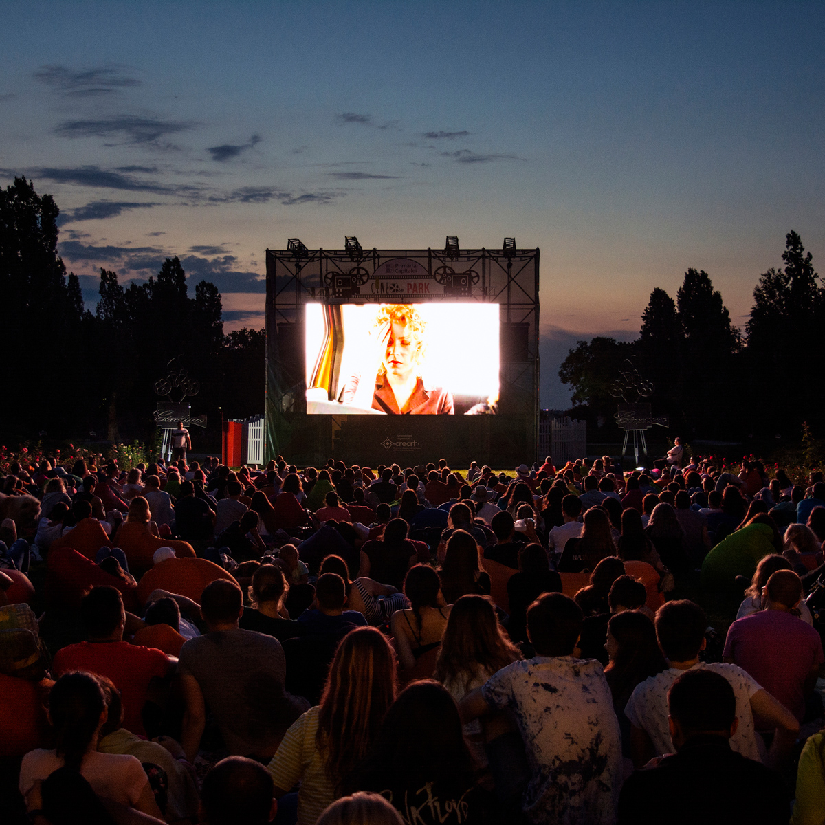 Open Air Kino am Olympiasee München