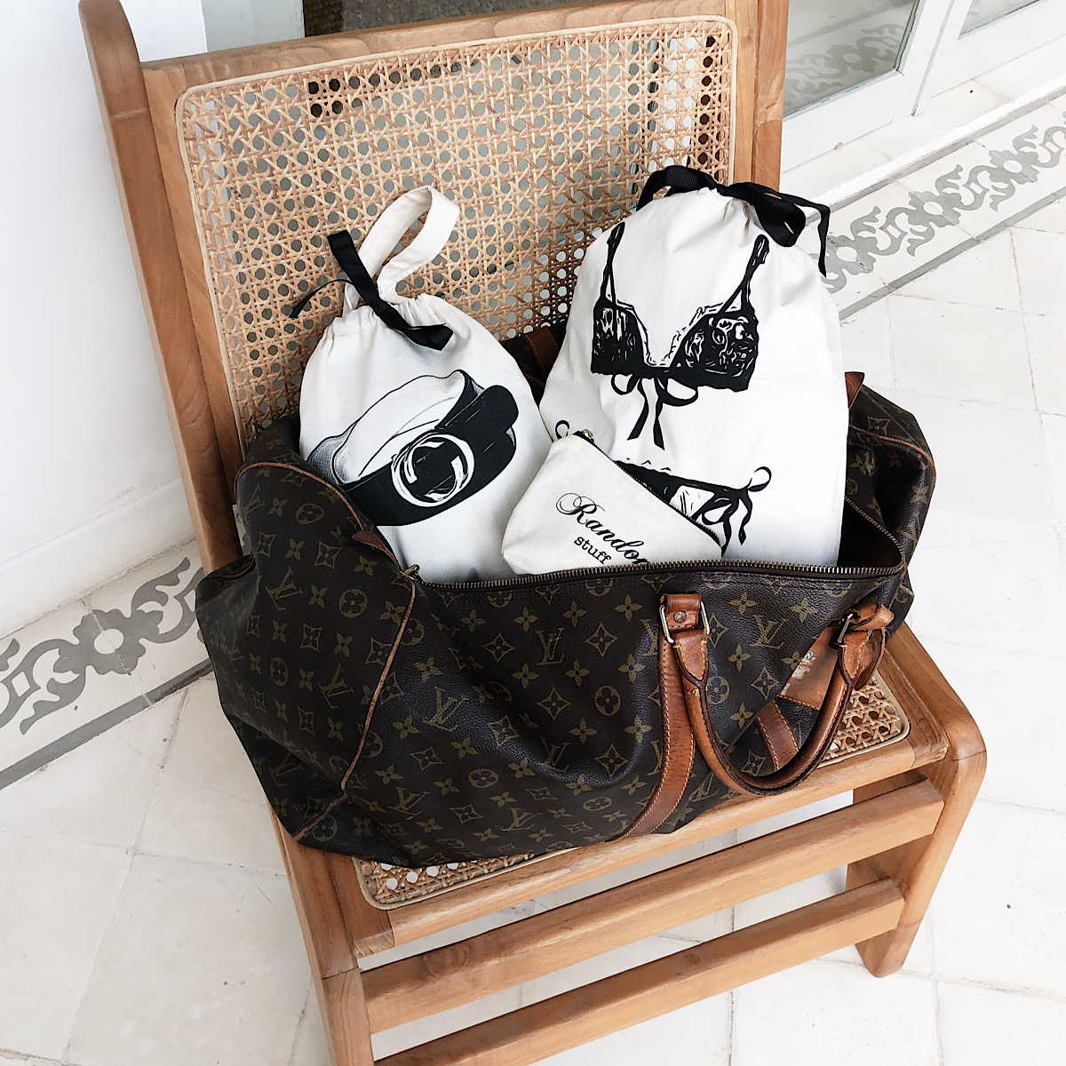 Reisesäcke online kaufen bei Gustavia Shop.