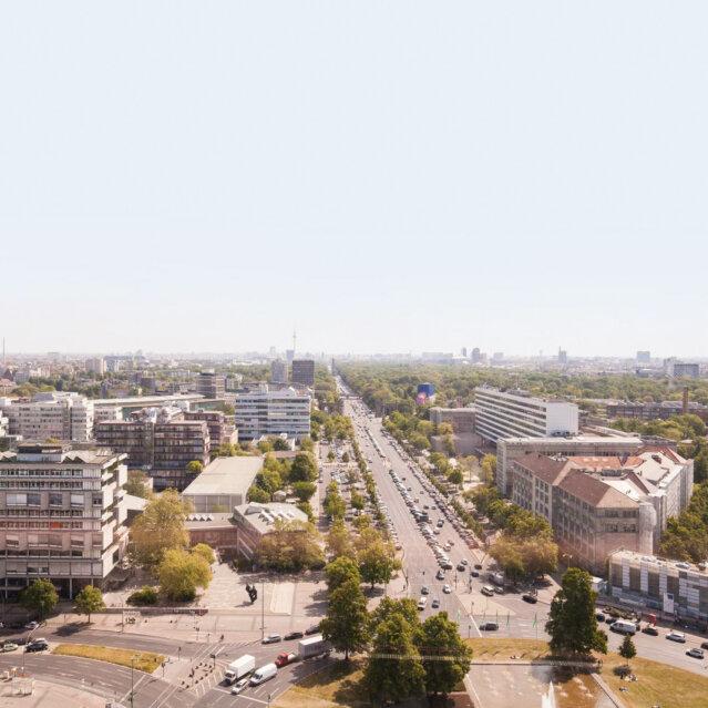 TU Mensa Skyline in Berlin Charlottenburg