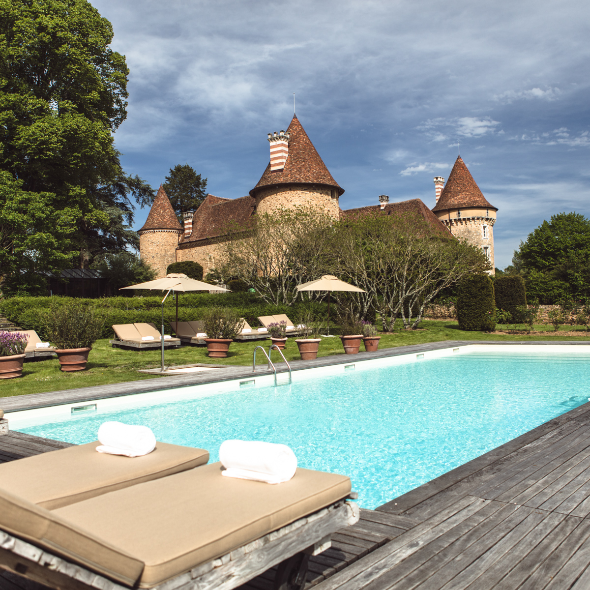 Hotel Domaine des Etangs Massignac Frankreich-13