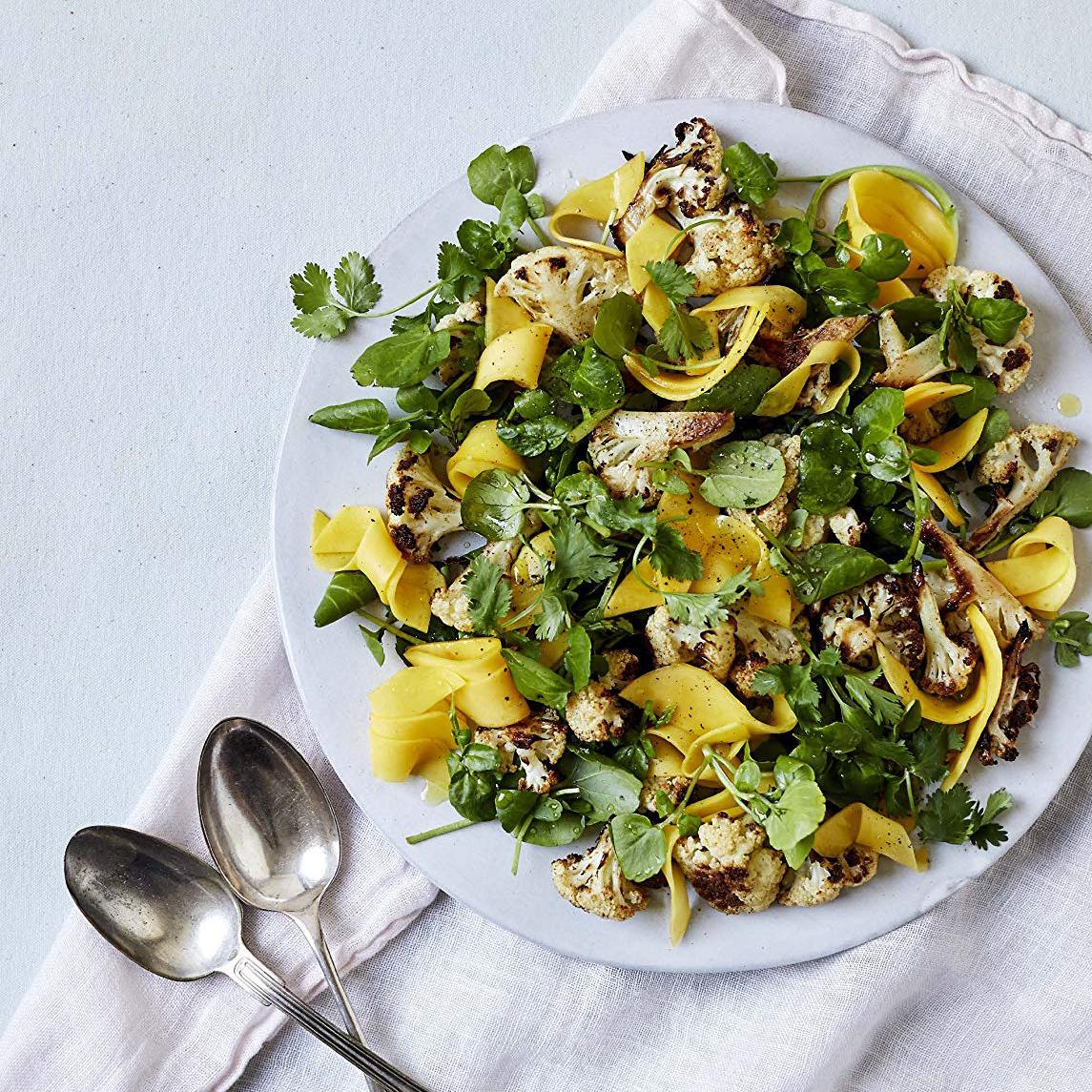 Rezept für Blumenkohl mit Mango und Kreuzkümmel