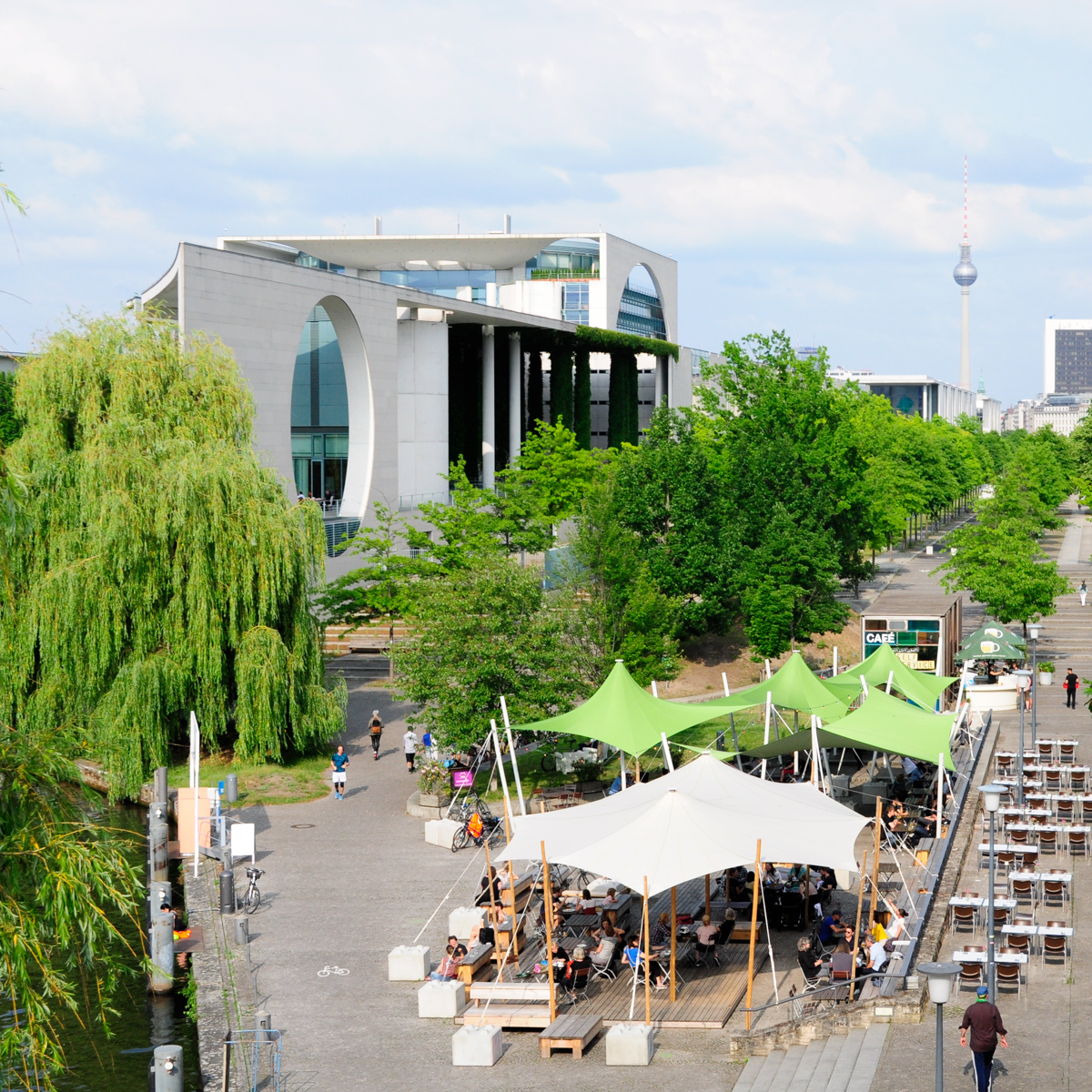 Weltwirtschaft Restaurant im HKW Berlin