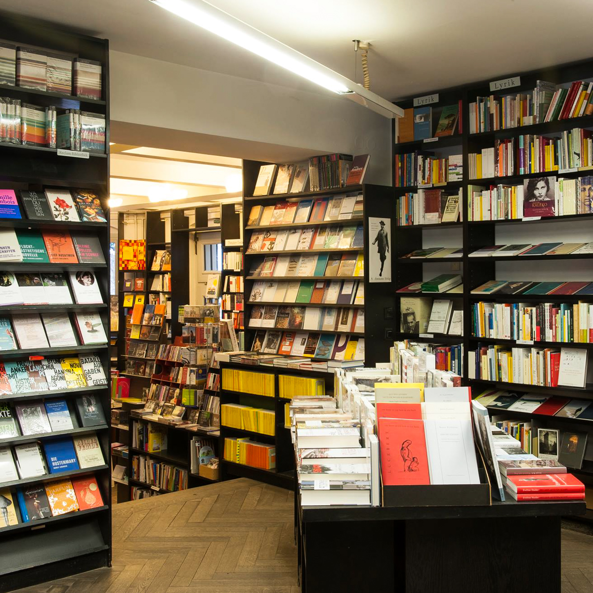 Buchhandlung Kohlhaas & Company im Literaturhaus