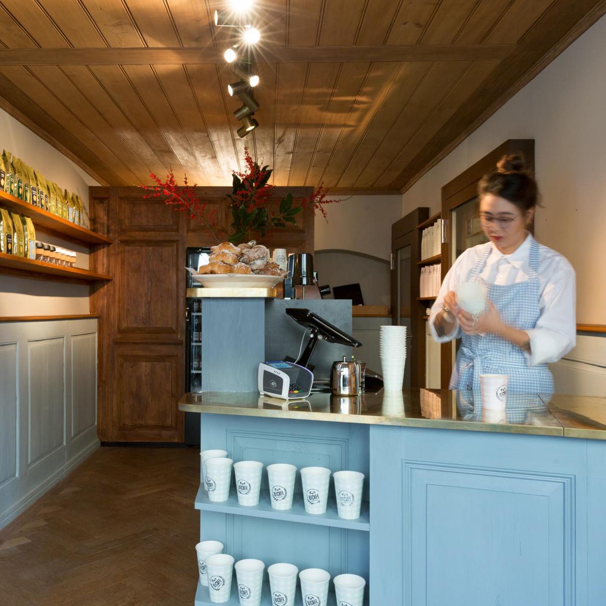 Le Café EnSoie by Vicafe in Zürich