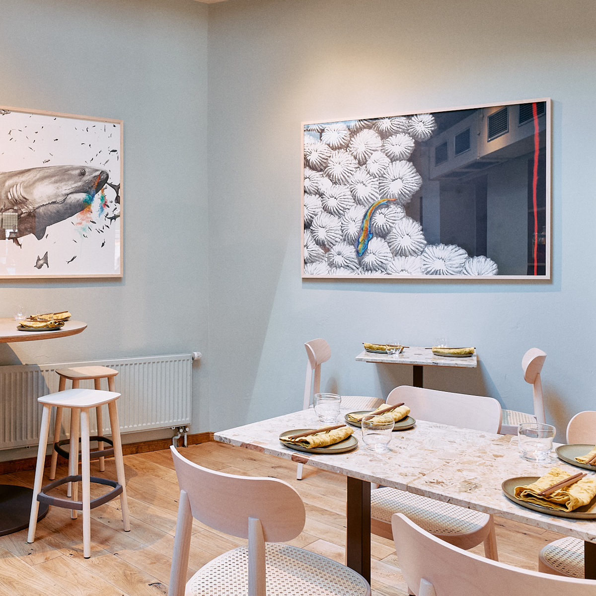 Restaurand XO Seafood Bar Hamburg © Wim Jansen-2