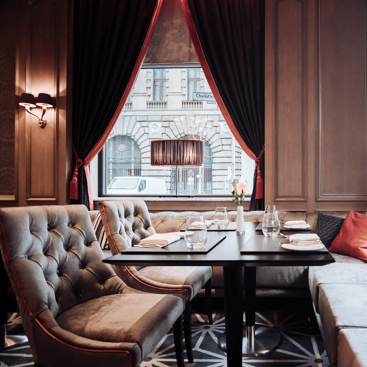 Restaurant Charlotte & Fritz im Regent Berlin