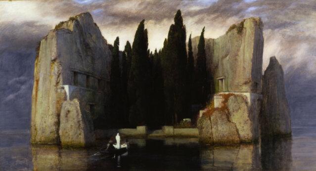 Arnold Böcklin, Die Toteninsel | Nationalgalerie | Foto. Andres Kilger