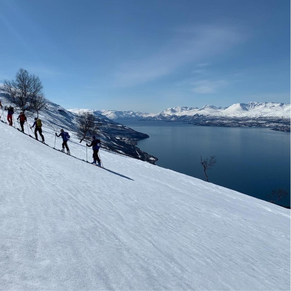 Lyngen Lodge Ski Langlauf