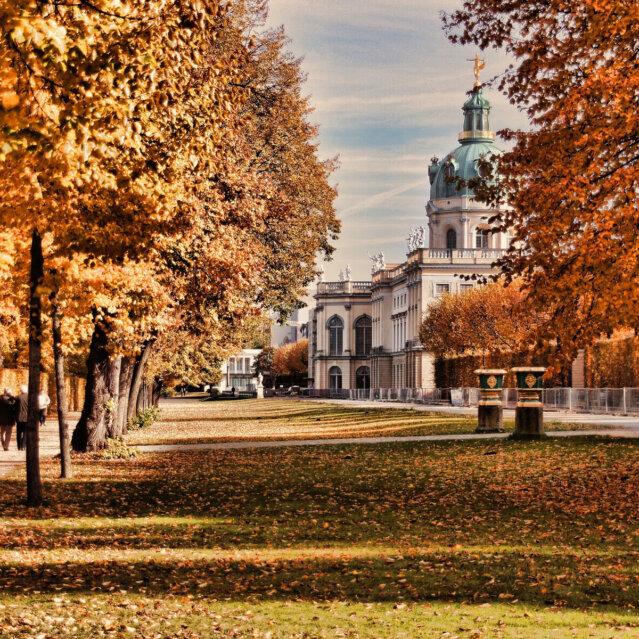 Spaziergang im Schloss Charlottenburg