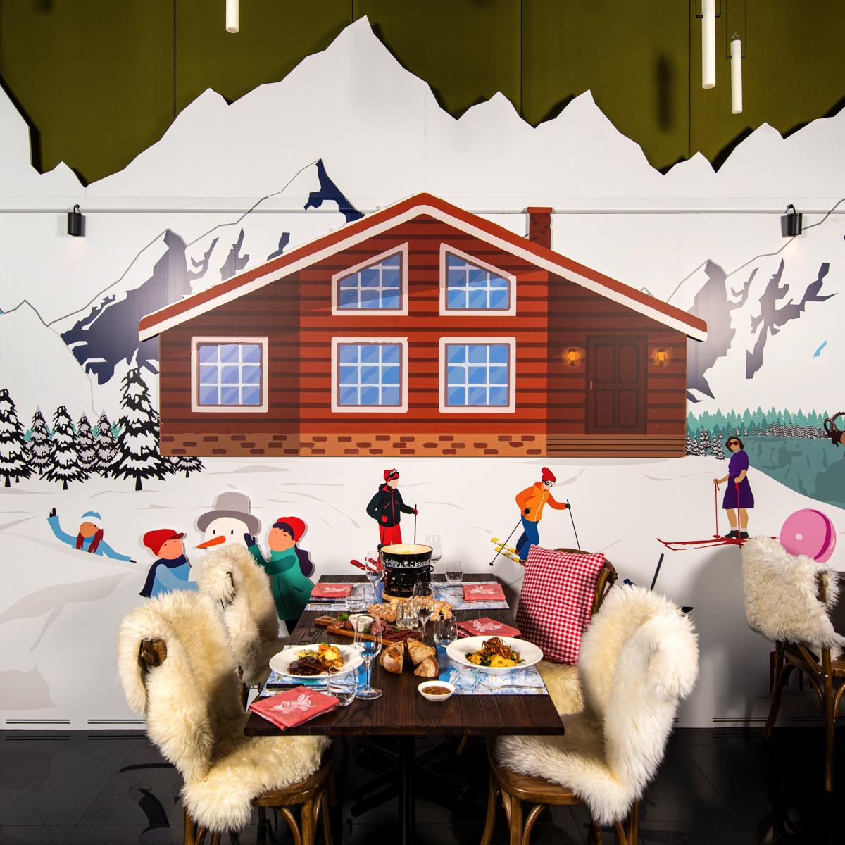Dolder Lodge Skihütte am Züriberg-4