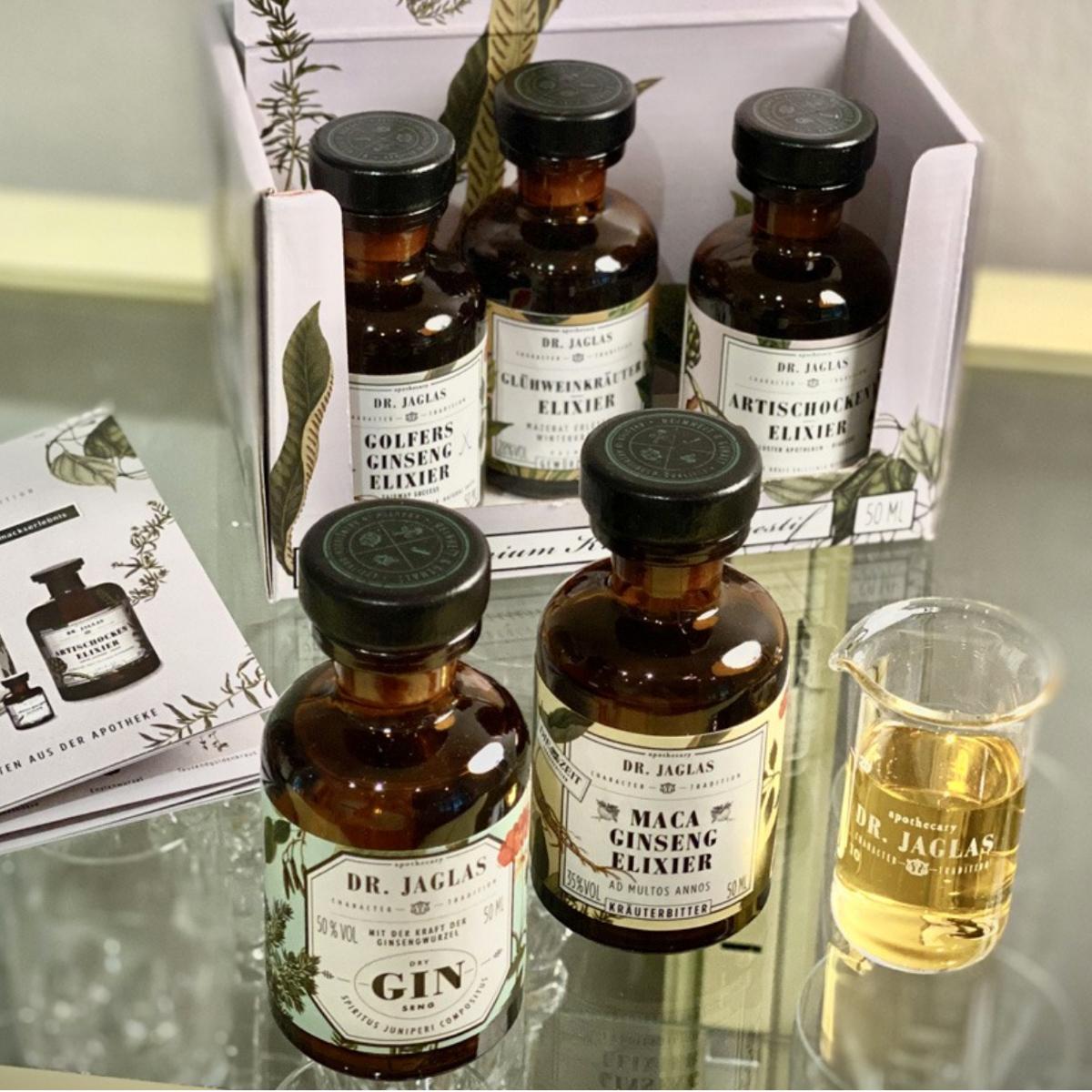 Dr.Jaglas Miniatur-Set © Tastery