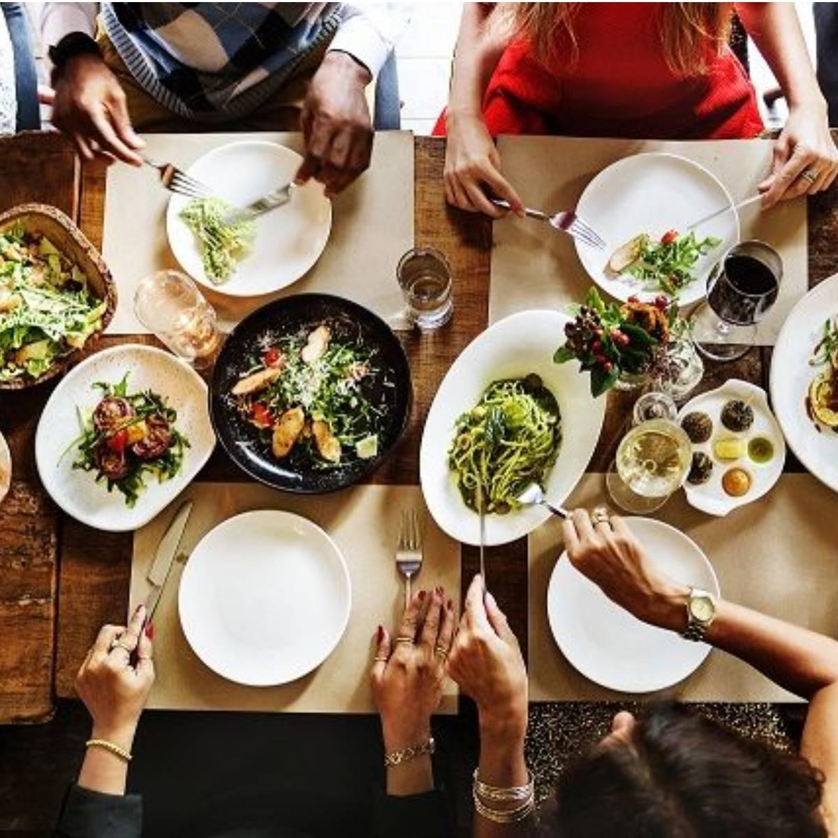 Das gemeinsame Mahl