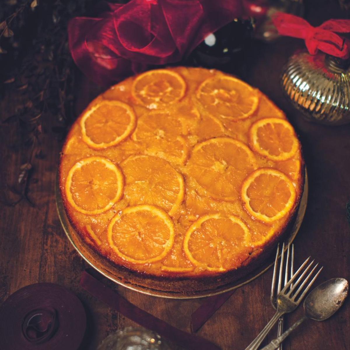 Orangenkuchen Melissa Fortis