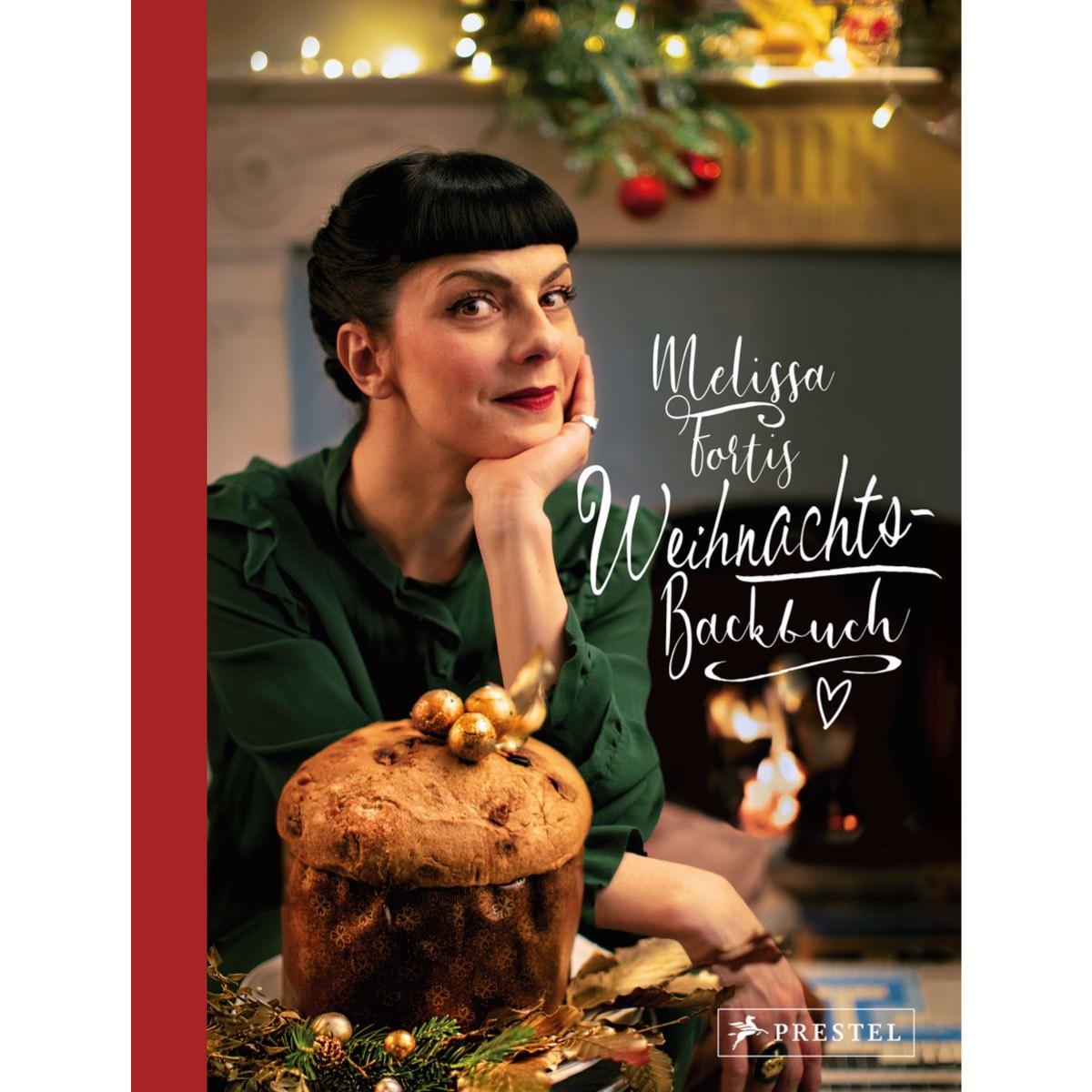 Titel Weihnachtskochbuch Melissa Fortis