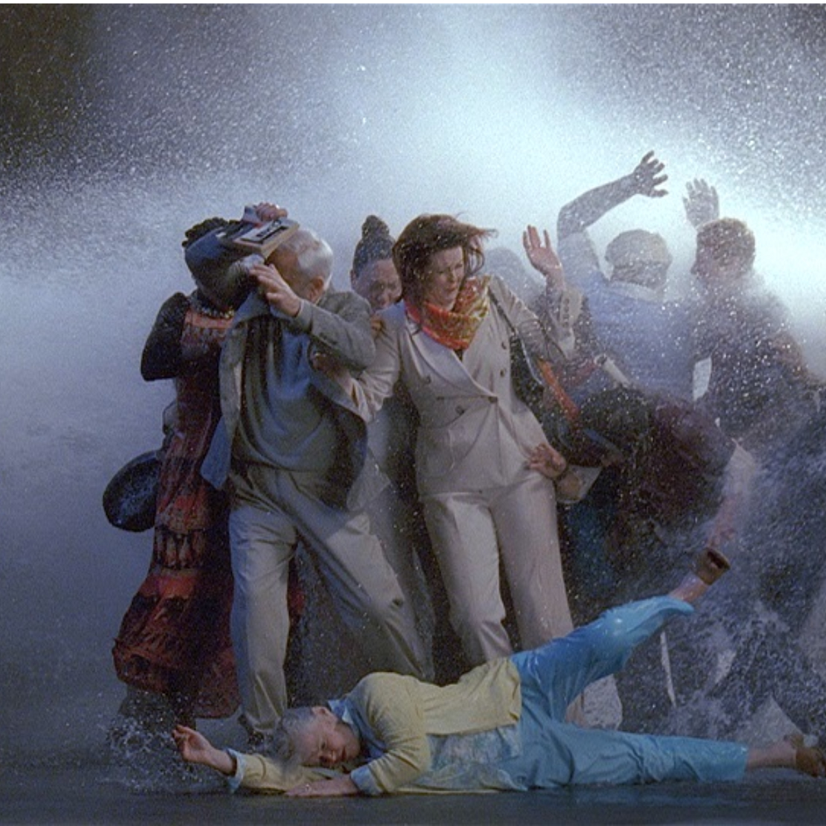 Bill Viola_Tempest (Study for The Raft)