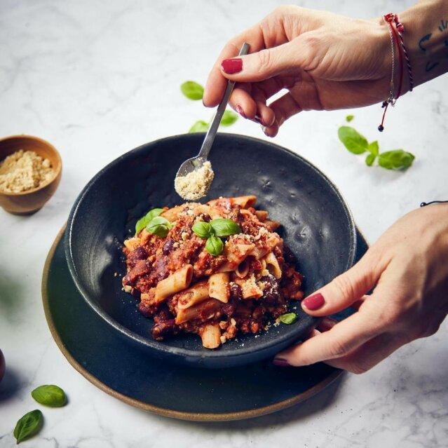 vegane Bolognese Rezept © Anna-Lena Ehlers