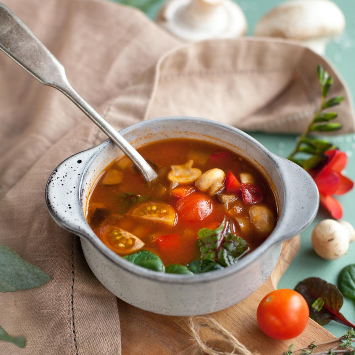 Ayurverdische Gemüsesuppe