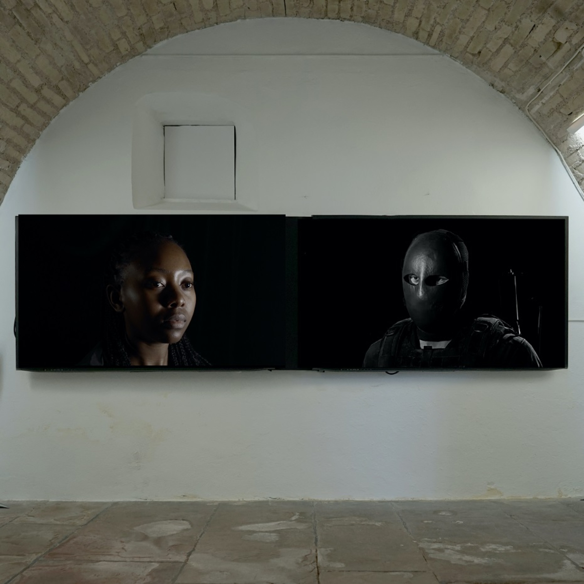 N.O.R.O.C.2.3., 2020, Multichannel screening,  HD video, 08_23 min., color, with sound @Galerie La Pierre Large, Strasbourg, France