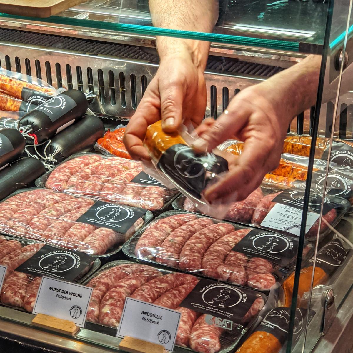 The Sausage Man never sleeps Berlin (3)