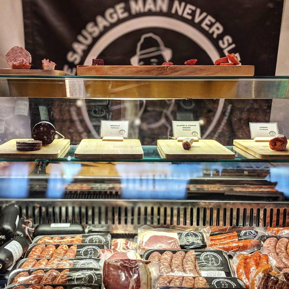 The Sausage Man never sleeps Berlin