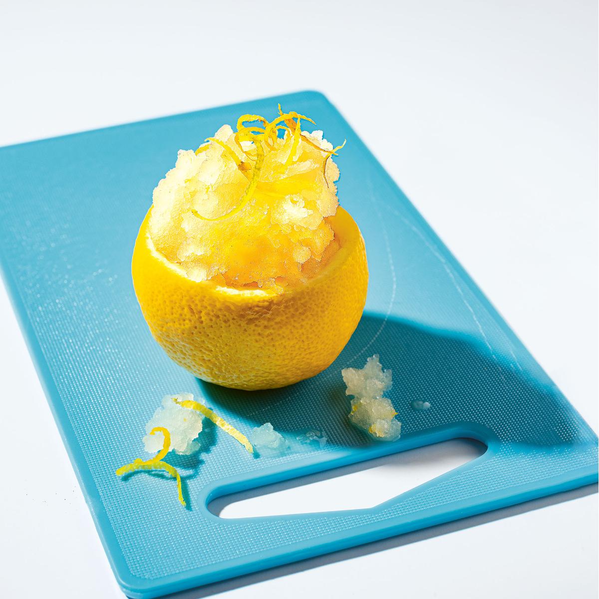 Zitronengranita Rezept Eis! Gelato!