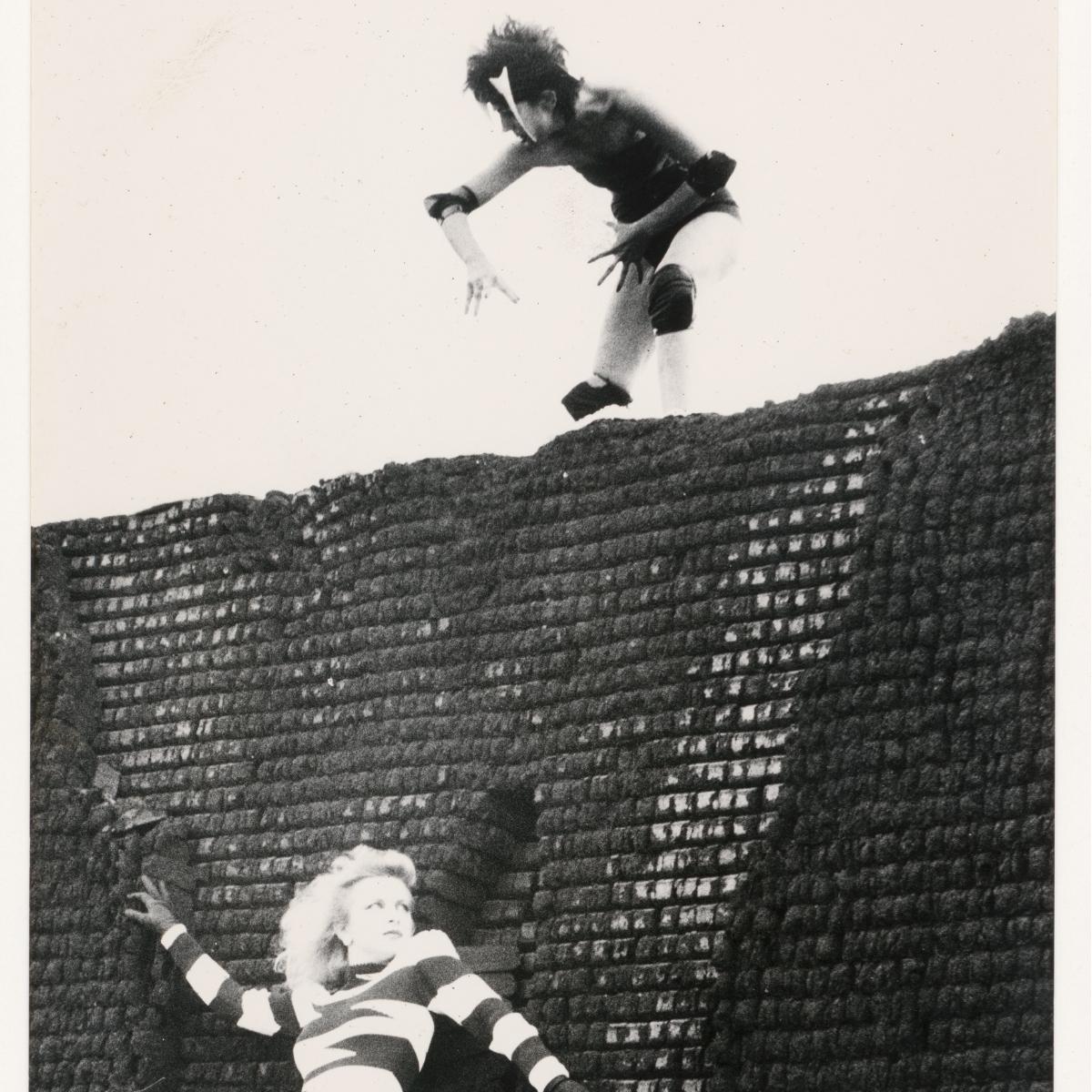 Luciano Castelli, Ohne Titel Silbergelatine-Vintageprint, 1979,  VG Bild-Kunst, Bonn 2021